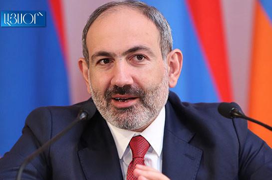 Karabakh peace talks not in deadlock: Armenia's PM