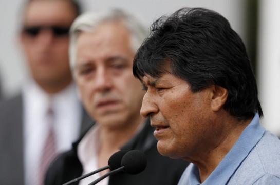 Моралес обратился за международной помощью для разрешения кризиса в Боливии