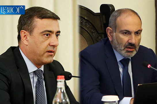 Armenia's PM says he instructed NSS to clarify forms and ways of cooperation of some circles with the devil