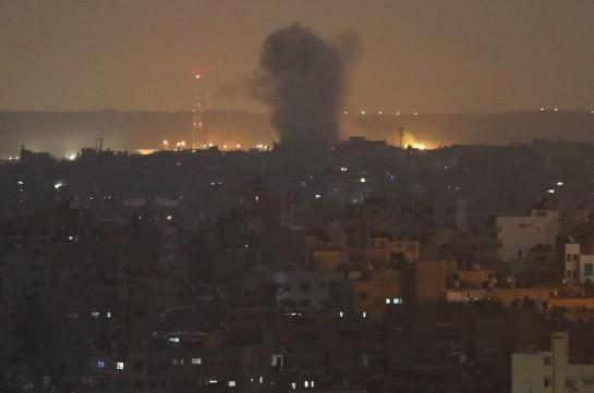 Իսրայելի զինվորականները վերսկսել են Գազայի հատվածի ուղղությամբ հարվածները