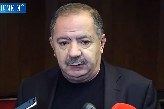 Today Armenia is not a legal state: former lawmaker