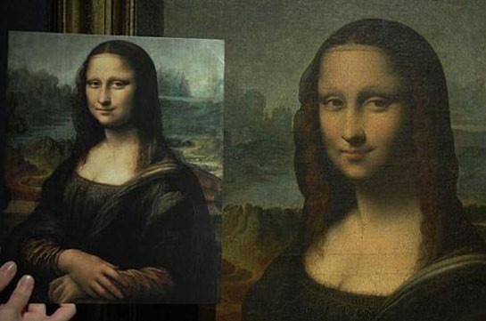 """Sotheby's выставляет на торги точную копию """"Джоконды"""" (Видео)"""