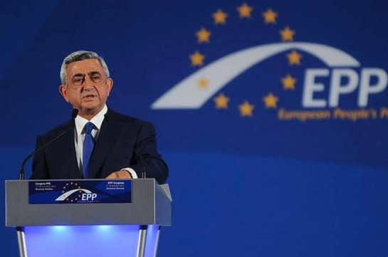 Republican party's president Serzh Sargsyan departs for Zagreb on working visit
