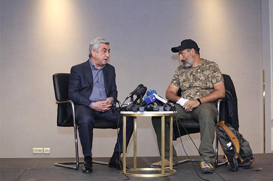 Սերժ Սարգսյանը երբևէ ուղղակի կամ անուղղակի շփում չի ունեցել Նիկոլ Փաշինյանի հետ. ՀՀ երրորդ նախագահի գրասենյակ