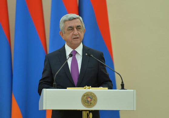 Серж Саргсян: Хочу, чтоб в Баку снова услышали мое послание – Арцах сроду не будет в составе Азербайджана