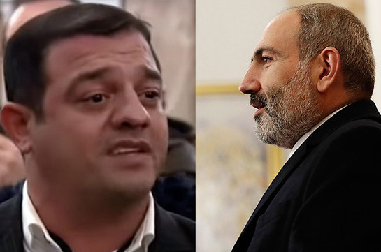 So-called Azerbaijani blogger addressing question to Armenia's PM in Milan appears to be Azerbaijani police officer