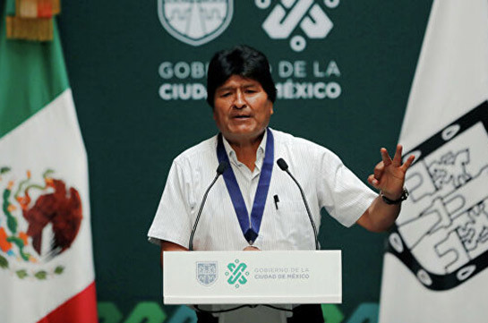 Morales dismisses allegations that 'Russian soldiers' are waiting for him in Bolivia