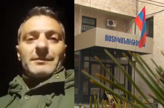 Դերասան Արտյոմ Կարապետյանին սպառնացած երթուղային տաքսու վարորդը հայտնաբերվել է (Տեսանյութ)