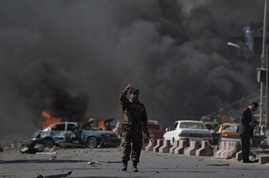 В Афганистане произошел взрыв