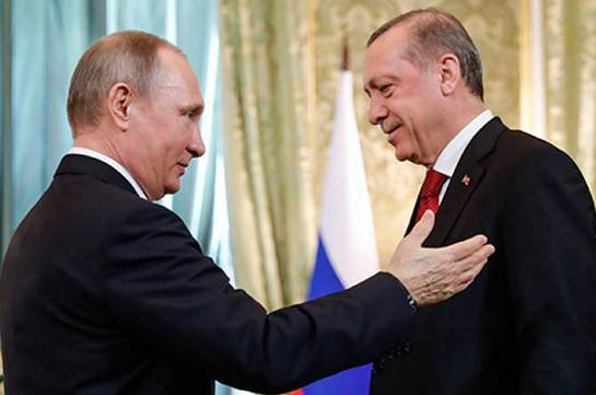 Песков подтвердил, что Путин и Эрдоган должны встретиться 8 января, возможно, в Стамбуле