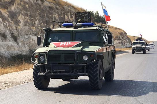 Трое российских военных пострадали при взрыве в Сирии