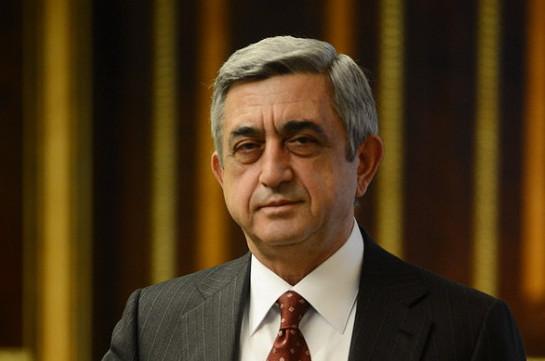 Бывшему президенту Армении Саргсяну предъявлено обвинение, избрана мера пресечения в виде подписки о невыезде