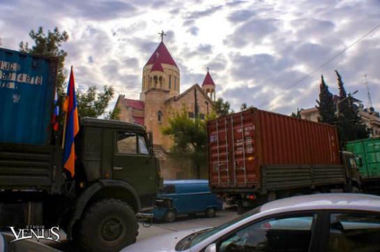 Հայ համայնքի հումանիտար օգնությունը հասել է Հալեպ (Լուսանկարներ)