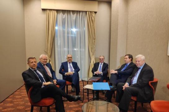 Главы МИД Армении и Азербайджана проведут новую встречу в начале 2020 года