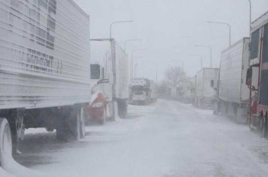 ՀՀ տարածքում կան փակ ավտոճանապարհներ, Ստեփանծմինդա-Լարսը բաց է