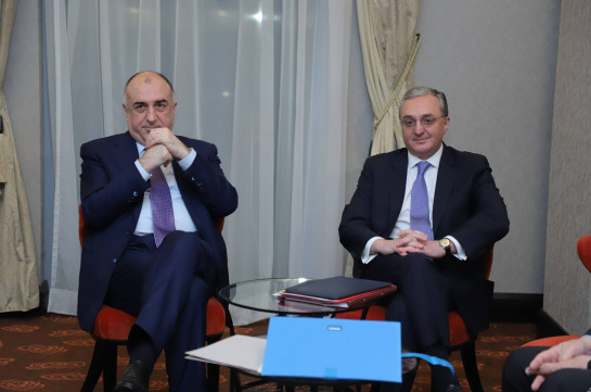 Armenia's FM stresses the importance of involvement of Artsakh in talks at the meeting with Azerbaijani counterpart
