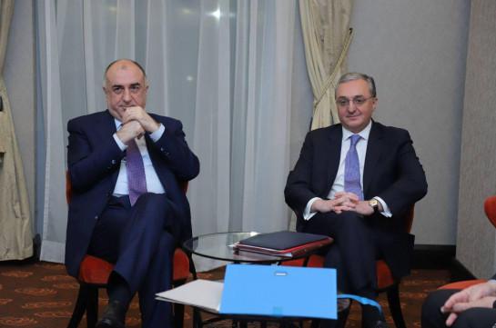 "Azerbaijani FM describes talks with Armenia's counterpart in Bratislava as ""serious and hard"""