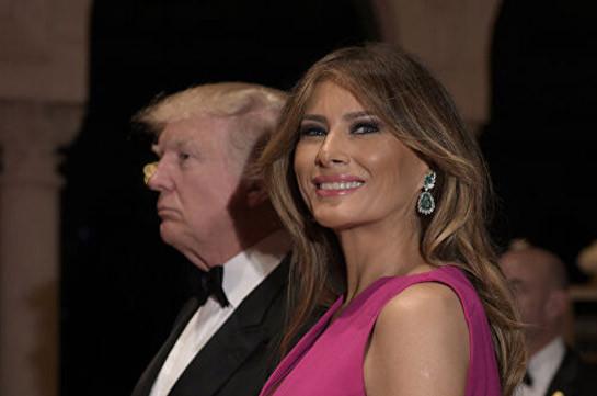Дональд и Меланья Трамп зажгли рождественскую ель у Белого дома