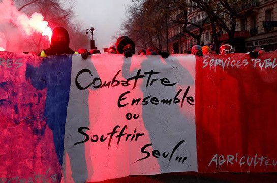 Macron pension reform: France enters second day of strikes