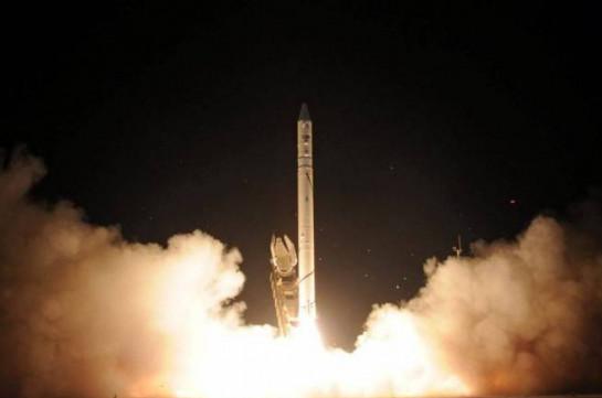 Израиль провел успешные испытания нового ракетного двигателя