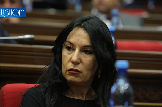 Наира Зограбян: Представленный законопроект – полностью политический
