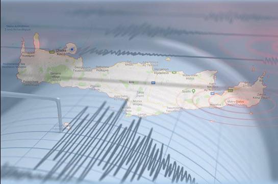 У берегов Крита произошло землетрясение магнитудой 5,4