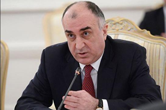 Мамедъяров: В переговорах с Арменией обсуждаются конкретные моменты, в том числе, «План Лаврова»
