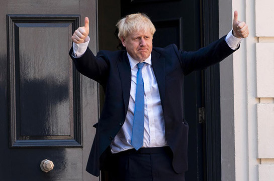 Election results 2019: Boris Johnson hails 'new dawn' after historic victory