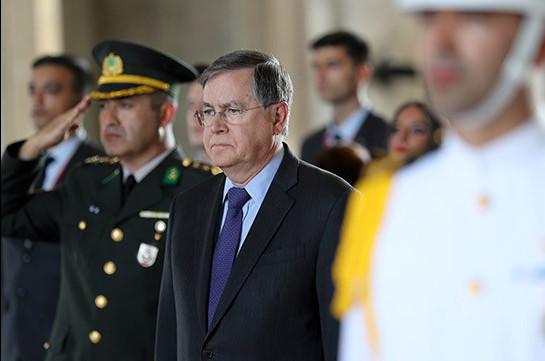 Turkey summons U.S. ambassador over Armenian 'genocide' resolution