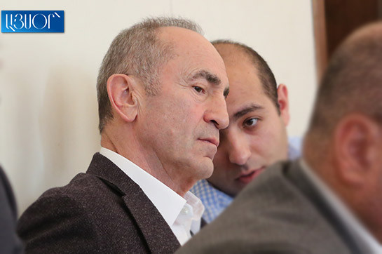ask for of application denies appeal headed for announcement Armenia's assign head Robert Kocharyan at payment