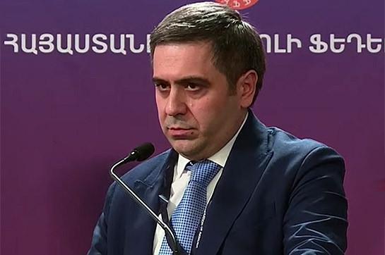 Armenia's Football amalgamation has additional chairman