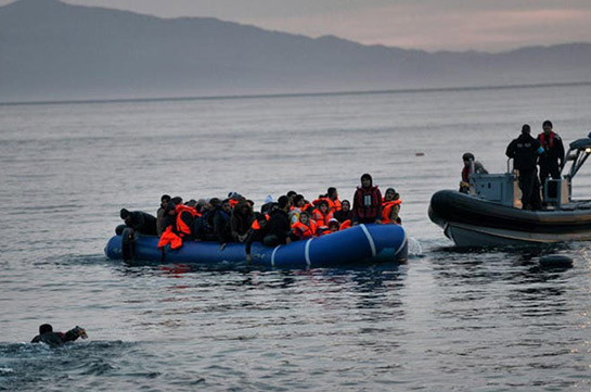 Image result for Seven dead as migrants' boat sinks in Turkey's Lake Van