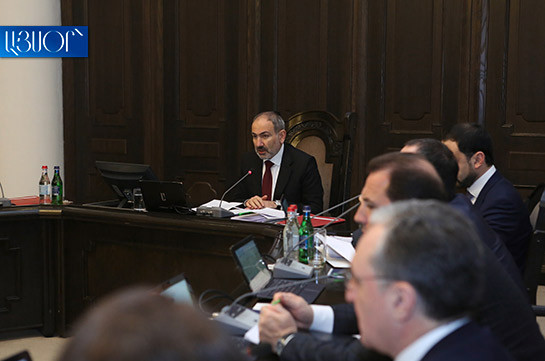 Armenia's PM says they wrap up the year with good mood and good figures