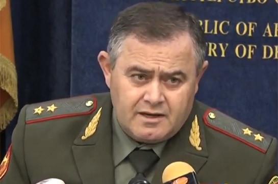 Միջոցներ ենք ձեռնարկում, որ հակառակորդին թույլ չտանք Նախիջևանի կողմից սպառազինության, ռազմական տեխնիկայի ճնշող գերակայություն ունենալ. ԳՇ պետ