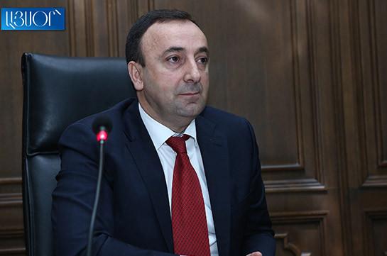 Հրայր Թովմասյանին մեղադրանք է առաջադրվել. Ռուբեն Մելիքյան