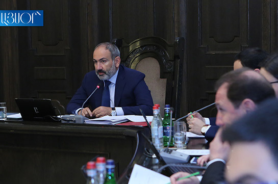 Armenia's government not to overcome poverty of person laying on sofa: Armenia's PM urges people to work