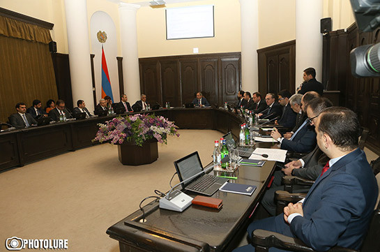 In 2019 Armenian government approved 57 investment projects costing 212 billion AMD