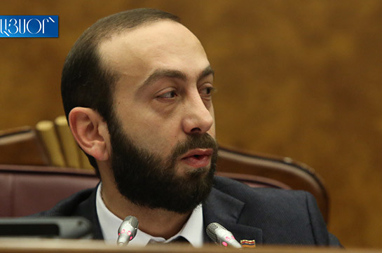 Removing Hrayr Tovmasyan from CC chairman's post not number one issue: Ararat Mirzoyan