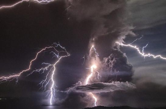 Taal volcano: Lava spews as 'hazardous eruption' feared