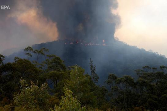В Австралии локализовали крупный очаг