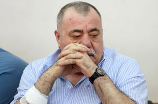 Ex-lawmaker Manvel Grigoryan transported to resuscitation department in grave condition: lawyer