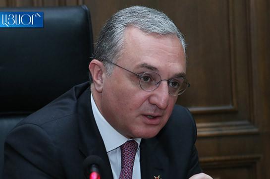 Դեռևս վաղ է խոսել Հայաստանի ու Ադրբեջանի ղեկավարների հանդիպման մասին. Զոհրաբ Մնացականյան
