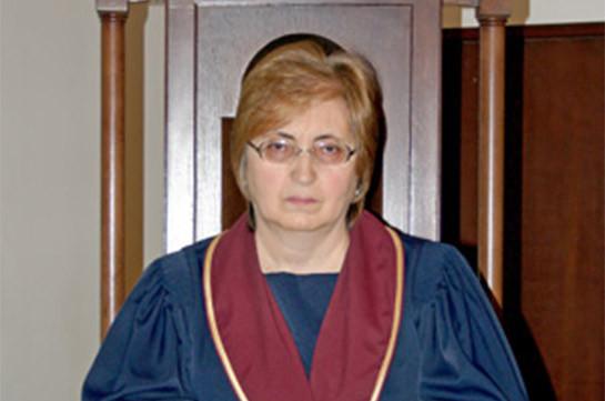 Альвина Гулумян избрана заместителем председателя Конституционного суда