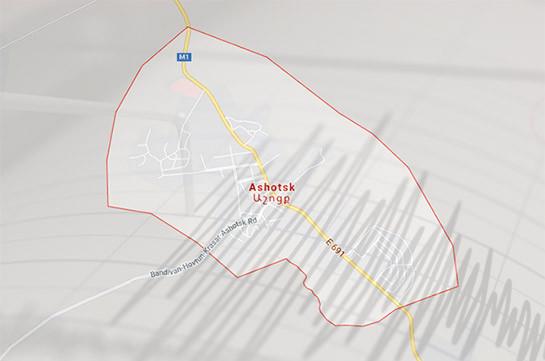 В Армении произошло сразу два землетрясения, сила толчков составила 4-5 и 3 баллов