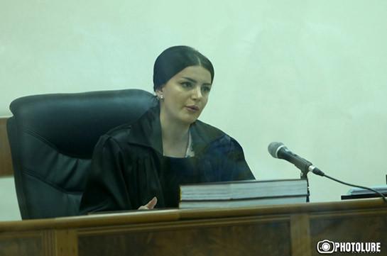 Կրակել են դատավոր Տաթևիկ Գրիգորյանի աշխատասենյակի պատուհանին