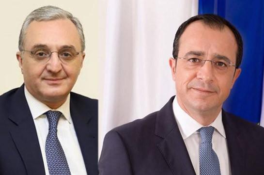 Հայաստանի և Կիպրոսի ԱԳ նախարարները քննարկել են երկկողմ համագործակցության հարցեր
