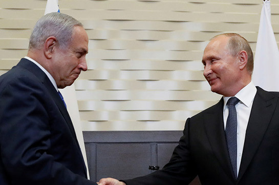 Պուտինը Երուսաղեմում  բանակցություններ է վարում Նեթանյահուի հետ