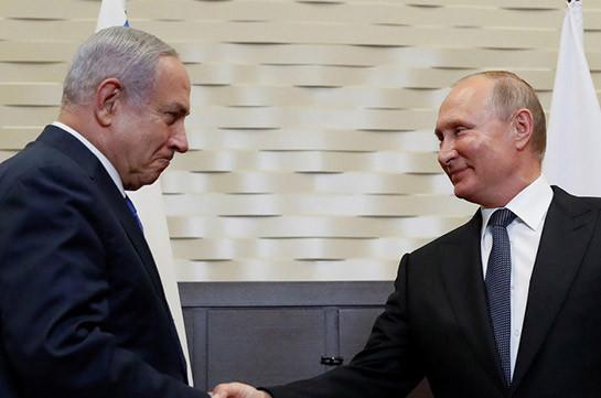 Путин в Иерусалиме проводит переговоры с Нетаньяху
