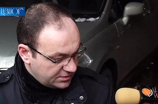 Սա հերթական մի օպերացիա է՝ ճնշելու ՍԴ նախագահ Հրայր Թովմասյանի ընտանիքին. Արսեն Բաբայան (Տեսանյութ)