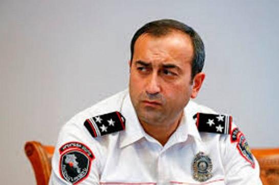 Назначен новый начальник управления полиции Еревана